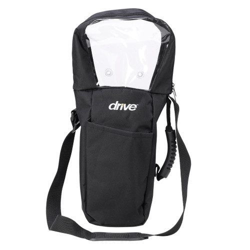 Drive Medical Oxygen D Cylinder Shoulder Carry Bag - Front | 822383104263