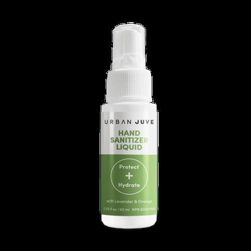 Urban Juve Hand Sanitizer Liquid Spray - Protect and Hydrate with Lavender & Orange 60mL -  UBJ-1000-001