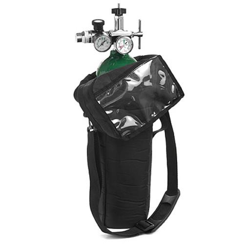Invacare Black Nylon Shoulder Bag for D Oxygen Cylinder  