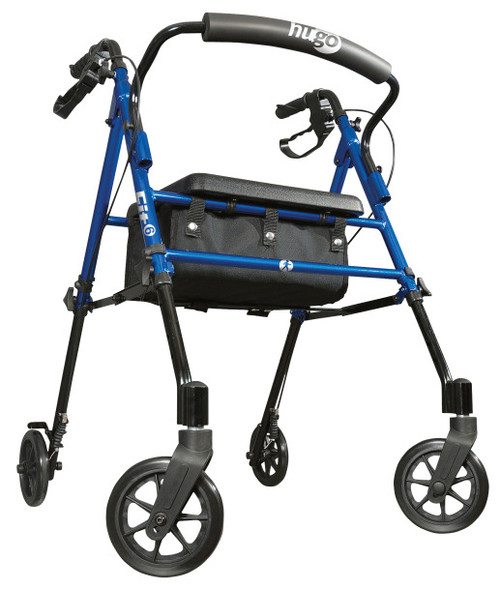 Hugo Fit 6 Rolling Walker with a Seat -  DRI-700-913