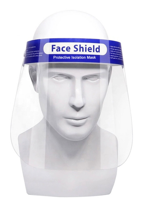 Mobb Protective Face Shield - Pack of 12 -  MOB-PFS2020