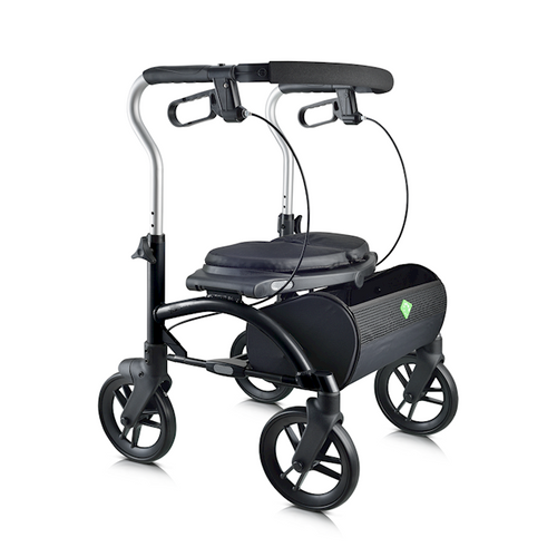 Evolution Xpresso Lite Series Walker with Cables  Black  UPC 882979000836; 882979000881; 882979000935