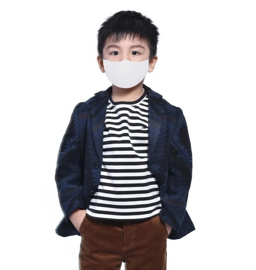 Sequence Health Antibacterial/Anti Droplet Mask for Kids - White | 628504860106 | 628504860014