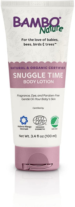 Bambo Nature Natural & Organic Certified Snuggle Time Body Lotion 100mL   190509000127