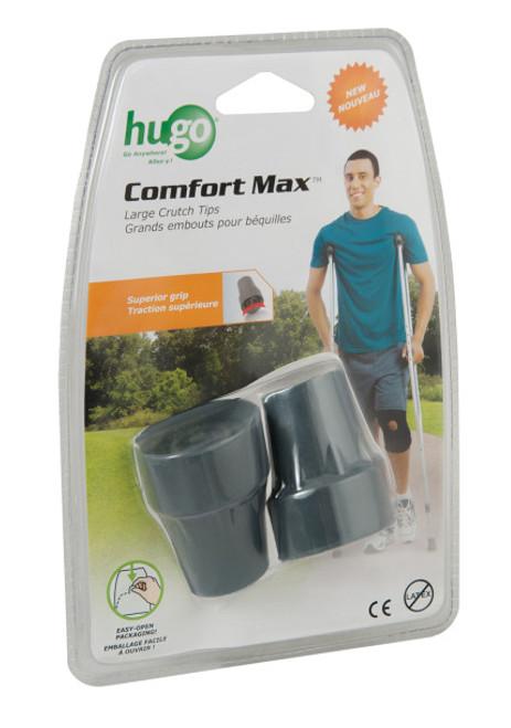 Hugo Comfort Max Crutch Tips, Large -Pair -  DRI-727-172