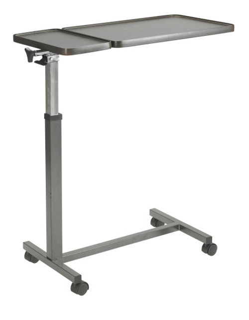 Drive Medical Overbed Table, Double Top -  DRI-13068BV