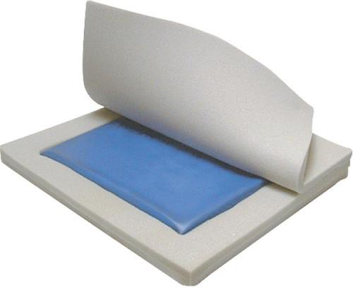 "Drive Medical Gel ""E"" Skin Protection 3"" Gel/Foam Wheelchair Cushion   Inside Image of Gel Cushion"