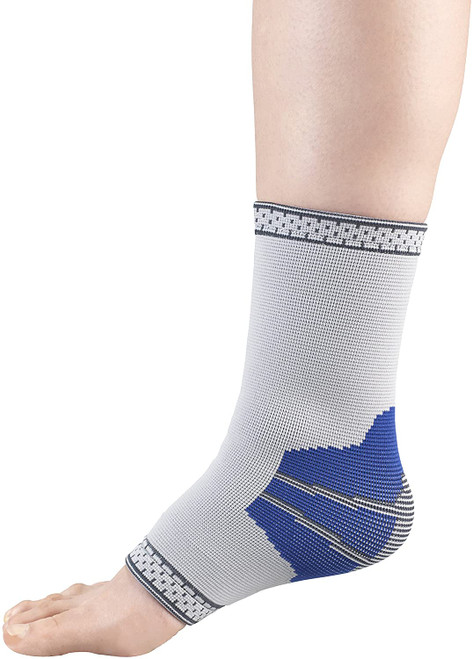 Champion Elastic Ankle Support Grey | UPC: XS-048503043711 | S-048503043728 | M-048503043735 | L-048503043759 | XL-048503043766
