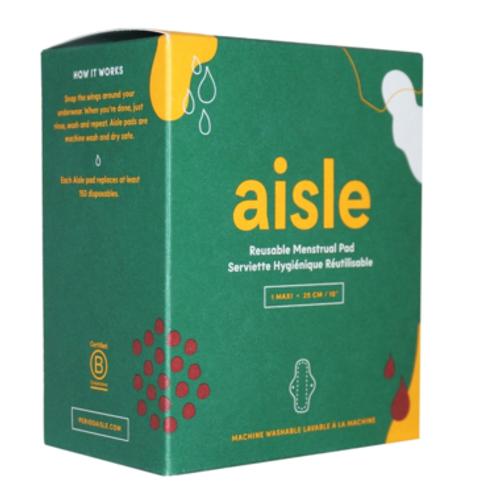Aisle Maxi Pad Reusable - 1 Pad   UPC: 625564170329   MPN: 473305