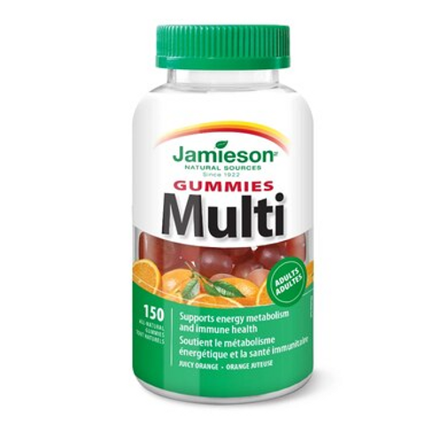 Jamieson Multivitamin for Adults 150 Gummies | 064642091635