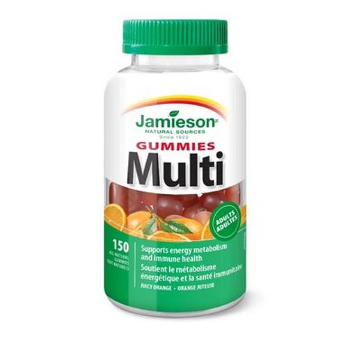Jamieson Multivitamin for Adults 150 Gummies | 064642091635