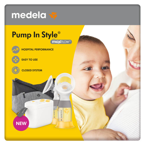 Medela Pump In Style Double Electric Breast Pump with MaxFlow Technology - New! | 020451401454