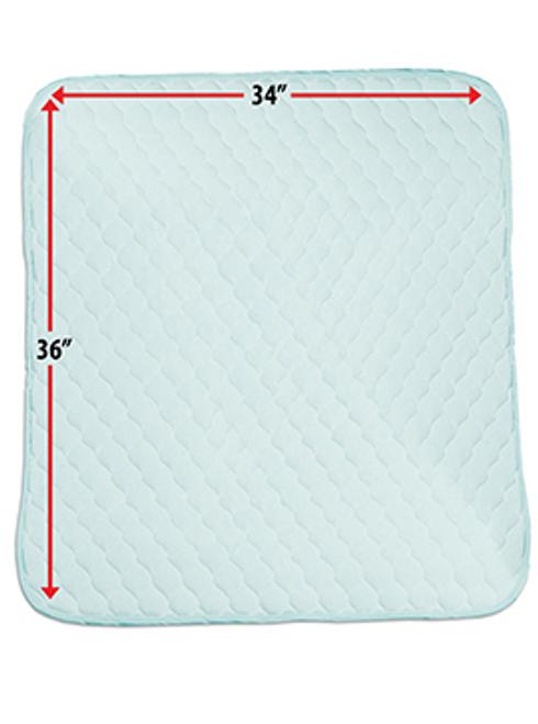 """Priva Premium Waterproof Sheet Protector 34"""" x 36"""" -  FIB-P13605"""