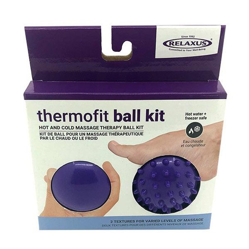 Relaxus Thermofit Ball Kit Hot & Cold Massage Balls - Set of 2 | 701381 | 628949113812