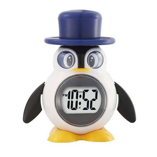 MaxiAids Reizen Talking Penguin Alarm Clock - English -  MAX-700798