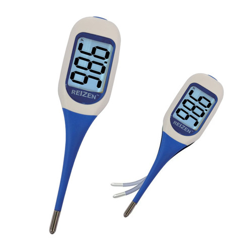 MaxiAids Reizen Talking Digital Thermometer -Dual Languages English or Spanish -  MAX-381313