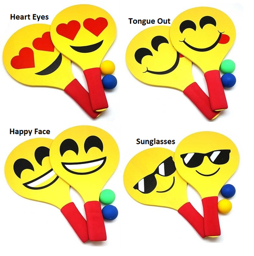 Relaxus Moji Hits Paddle Ball Game (Assorted) -  REL-525673