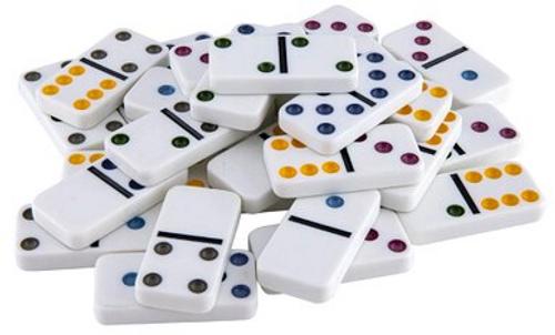 Relaxus Coloured Dominos   628949151241