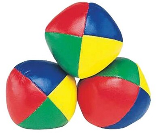 Relaxus Juggling Balls Set -  REL-525111