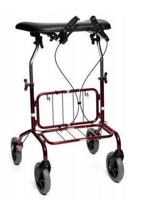 Human Care Rebel TW 72 Rollator With Basket | Low: 23411B | Standard: 23421B