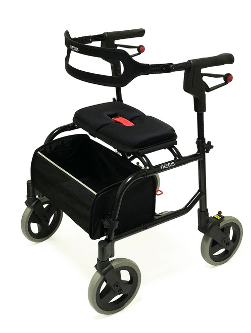Human Care Nexus 3 Rollator Super Low Black  | MPN: 470018 | UPC: 881608400962