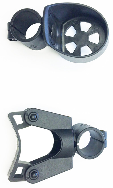 Human Care Cane Holder For Rollator Models - Nexus 1 & Nexus 3 |  Cane Holder Top View Image | 7331599440247