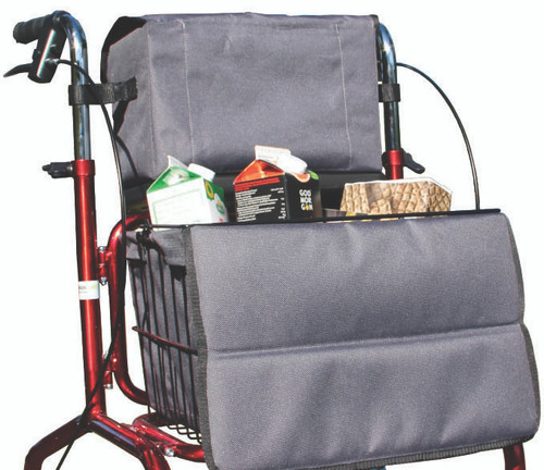 Human Care Bag Kit For Rollators Models - Carl Oskar/ Rebel | Bag Kit Use Image