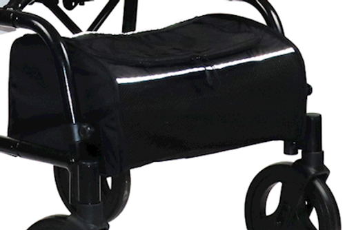 Human Care Zippered Soft Basket For Rollator Models- Nexus 1 & Nexus 3   Soft Basket   Single Code: 93280   UPC:881608700529    5-Pack Code: 93281   UPC: 881608700536