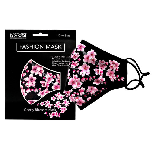 Modgy One Size Fashion Mask - Cherry Blossom