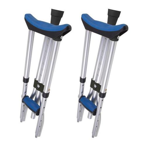 Carex Folding Crutches -  CAR-FGA995CA