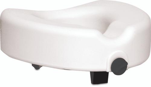 Probasics Raised Toilet Seat with Lock | UPC: 815067072002 | SKU: PRB-PB308 | MPN: PB308(BSRTSL)