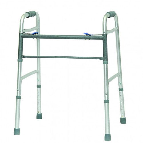 ProBasics Aluminum Bariatric Walker 2 Button Without Wheels | MPN: WKABN2B | UPC: 815067071104