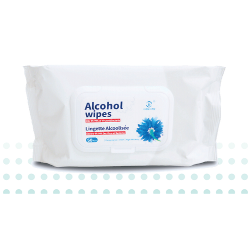 Dr. Ho's BoomCare Sanitizing Alcohol Wipes - Pack of 50 -  DRH-WIPES
