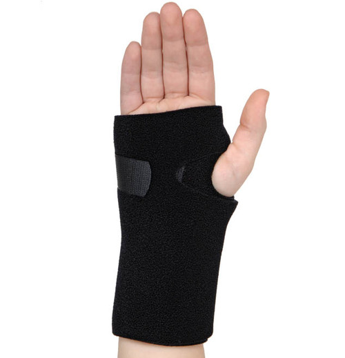 Ortho Active Universal Neoprene Wrist Support - Black -  ORT-94U