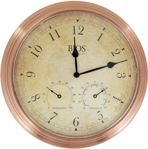 BIOS Medical Weather 3-in-1 Outdoor Clock | UPC: | SKU: BIO-818BC