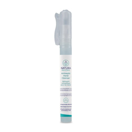 Natura Solutions Antiseptic Hand Cleanser Spray Pen 12ml | 628250612813