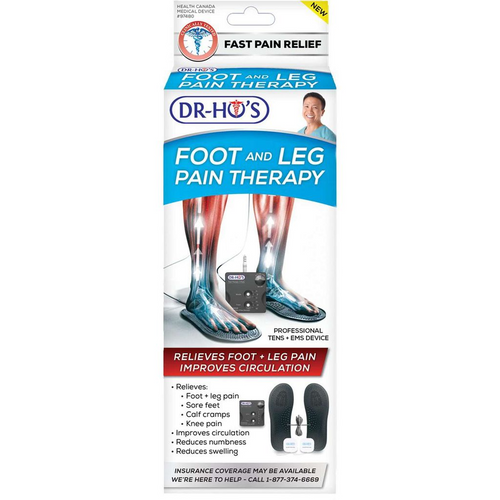 Dr. Ho's Foot and Leg Pain Therapy - Professional TENS + EMS Device | 1600