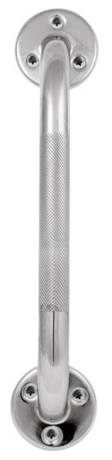 Profilio Knurled Chrome Grab Bar -  DRI-786