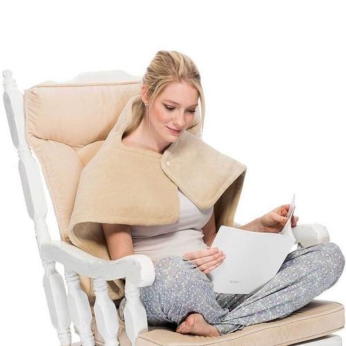 "Relaxus Electric Neck & Back Warmer Regular Size (26"" x 30"") | 628949026389"