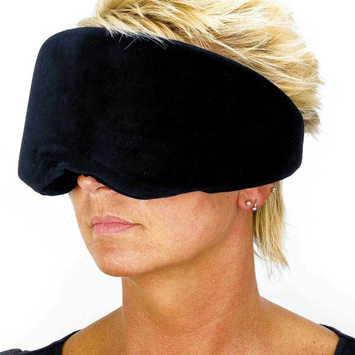 Relaxus Space-Foam Memory Foam Wrap Around Eye Mask -  REL-504320