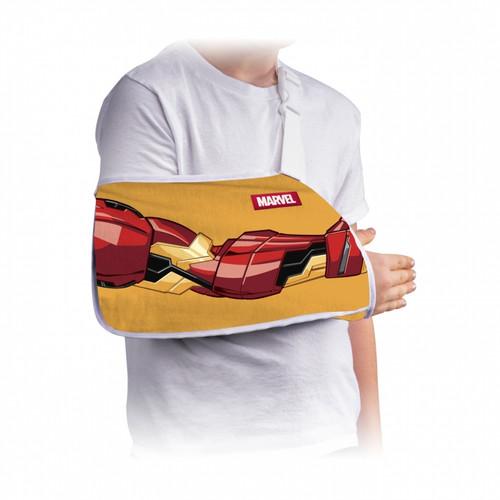 Donjoy Advantage Youth Arm Sling - Featuring Marvel - Iron Man   DJO-DA191AR01-IRM   190446366010   190446366027