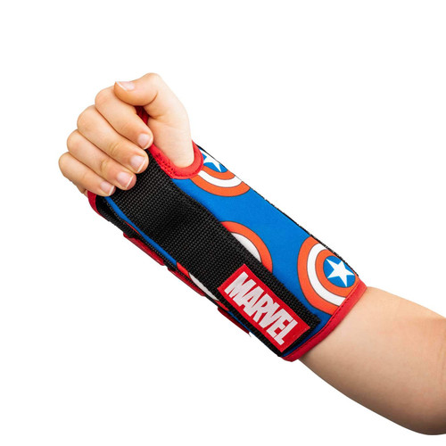 Donjoy Advantage Comfort Wrist Brace - Featuring Marvel - Captain America   190446361084, 190446361077, 190446361190, 190446361183