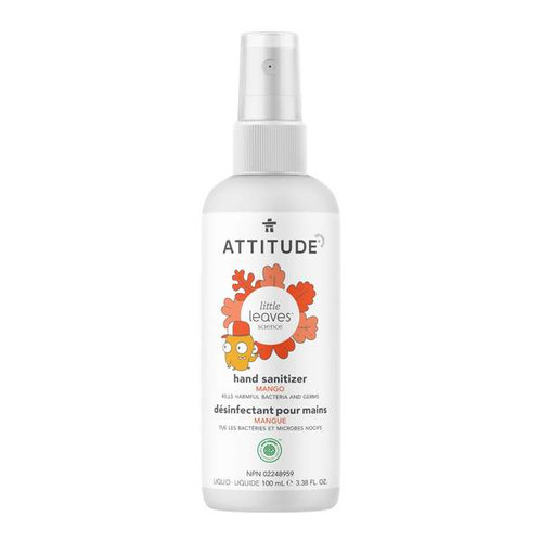 Attitude Little Leaves Hand Sanitizer Mango 100ml -  ATD-1119-001
