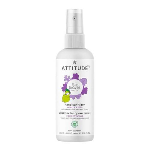 Attitude Little Leaves Hand Sanitizer Vanilla & Pear 100ml -  ATD-1120-001