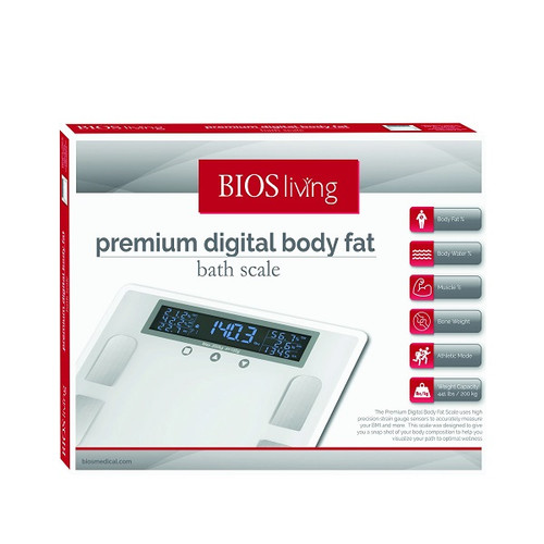 BIOS Medical Premium Body Fat Scale | SC401 | 057475932015