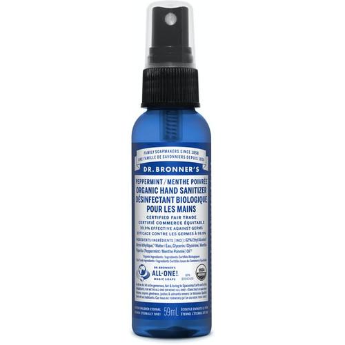 Dr. Bronner's Organic Hand Sanitizer Peppermint 59 ml -  DRB-1039-001