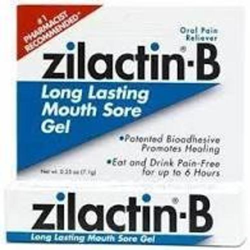 Zilactin-B  Long Lasting Mouth Sore Gel 6g -  LIA-350323