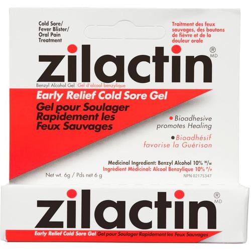 Zilactin Early Relief Cold Sore Gel 6g -  LIA-350024