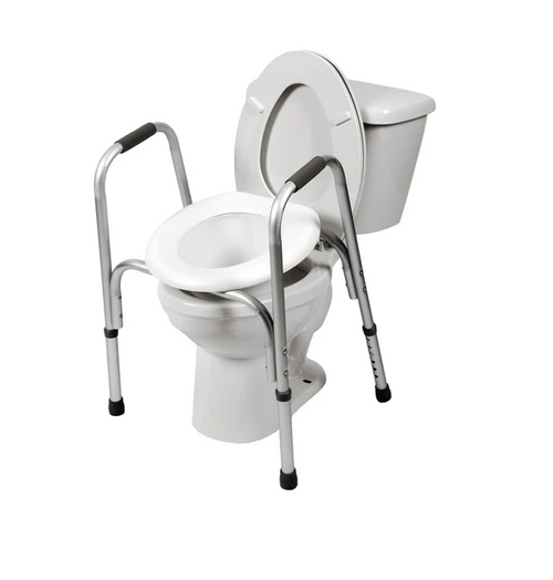 Airway Surgical PCP Raised Toilet Seat With Safety Frame | 048503700706