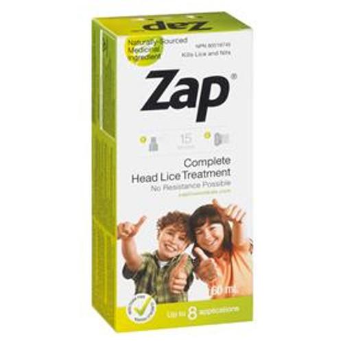 Zap Complete Head Lice Treatment Spray 60ml -  ZAP-822617